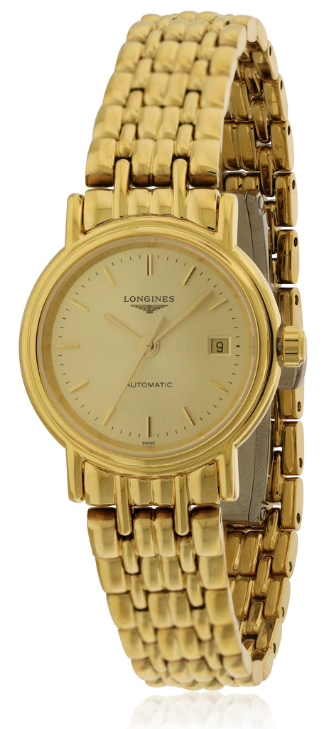 Longines Presence Automatic Gold-Tone Ladies Watch