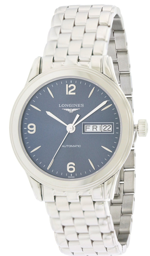 Longines Flagship Stainless Steel Automatic Mens Watch