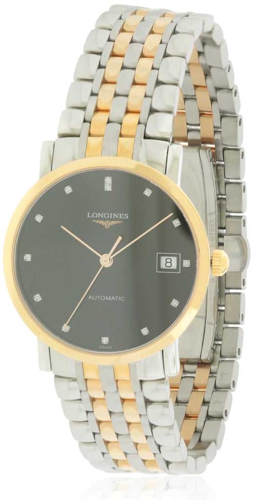 Longines Elegant Automatic Two-Tone Unisex Watch
