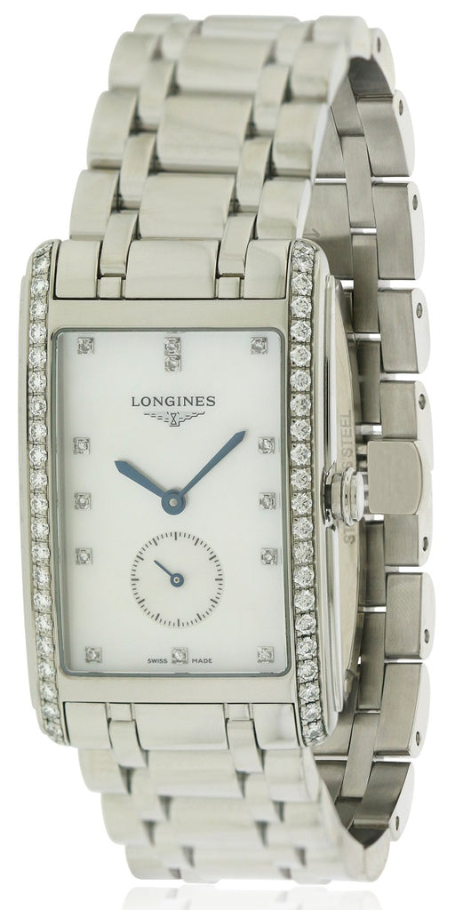 Longines DolceVita Stainless Steel Ladies Watch