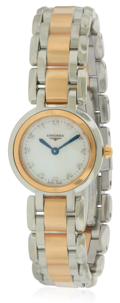 Longines PrimaLuna Two-Tone Ladies Watch