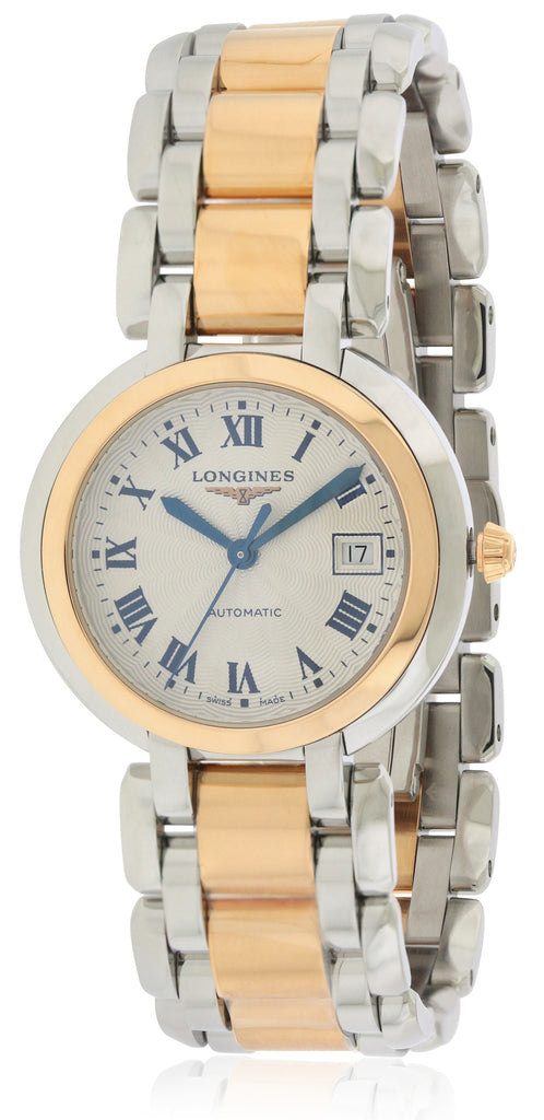 Longines PrimaLuna Two-Tone Automatic Ladies Watch