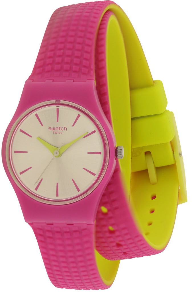 Swatch FIOCCOROSA Silicone Ladies Watch