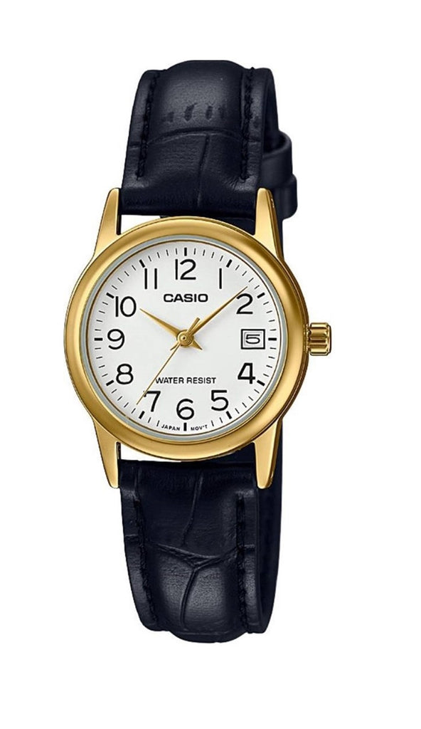 Casio Leather Ladies Watch