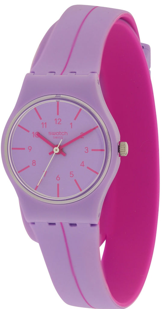 Swatch SEGUE A LINHA Silicone Ladies Watch