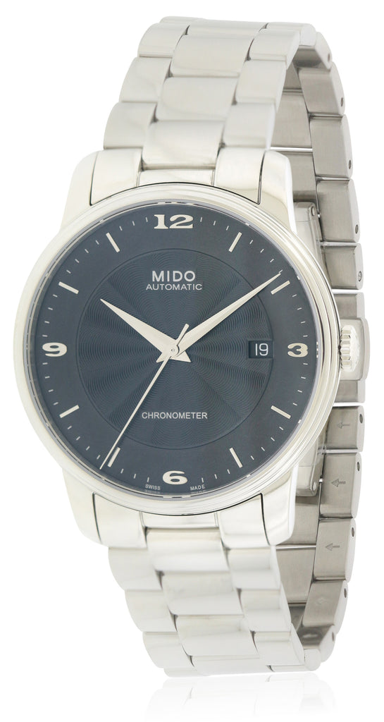 Mido Baroncelli Stainless Steel Automatic Mens Watch