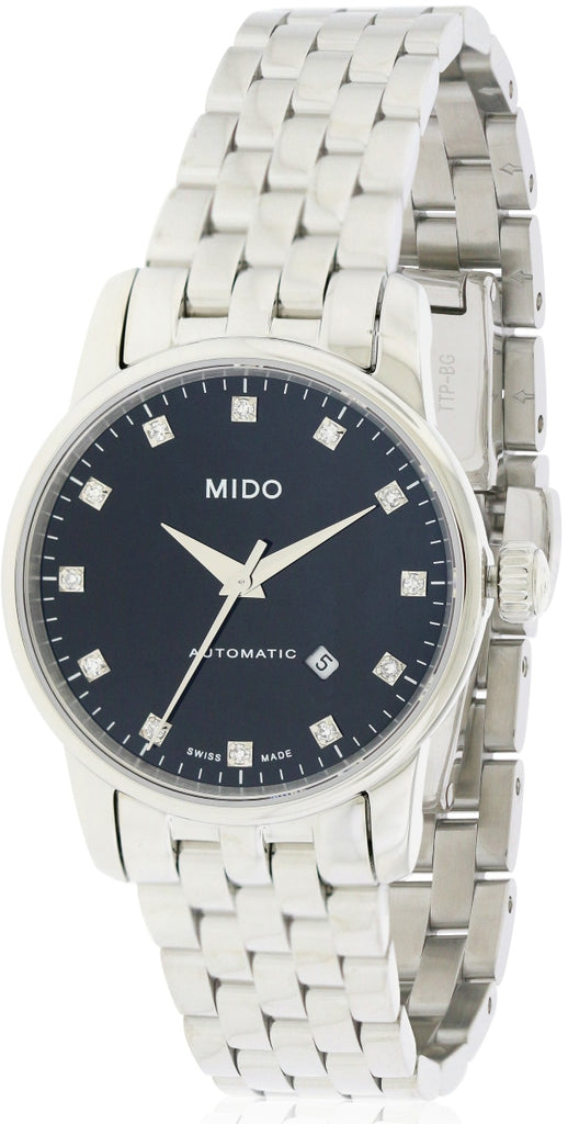 Mido Baroncelli Stainless Steel Automatic Ladies Watch
