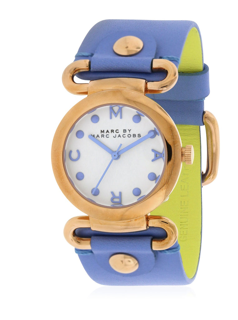 Marc by Marc Jacobs Small Molly River Leather Ladies Watch