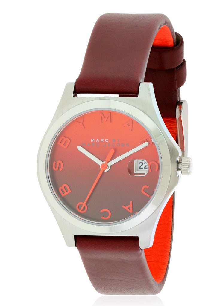 Marc by Marc Jacobs Slim Mini Leather Ladies Watch
