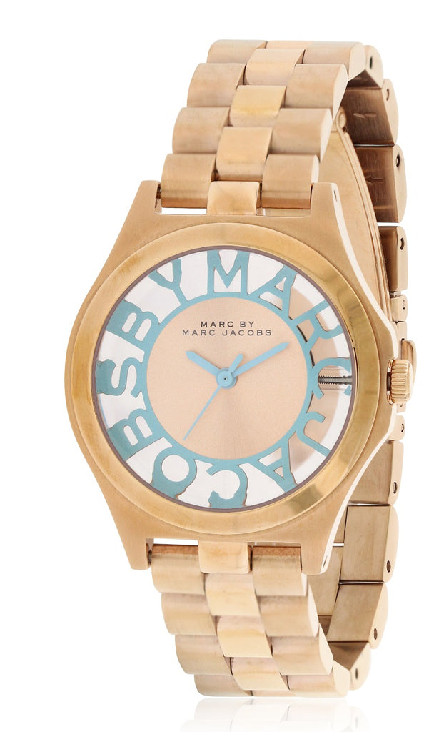 Marc by Marc Jacobs Henry Rose Gold-Tone Ladies Watch