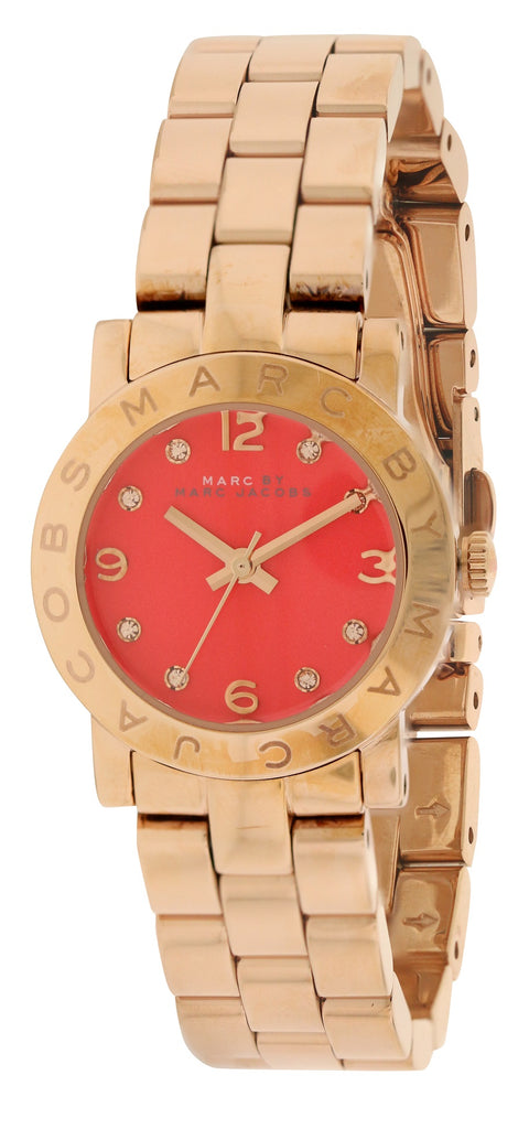 Marc by Marc Jacobs Amy Gold-Tone Ladies Watch