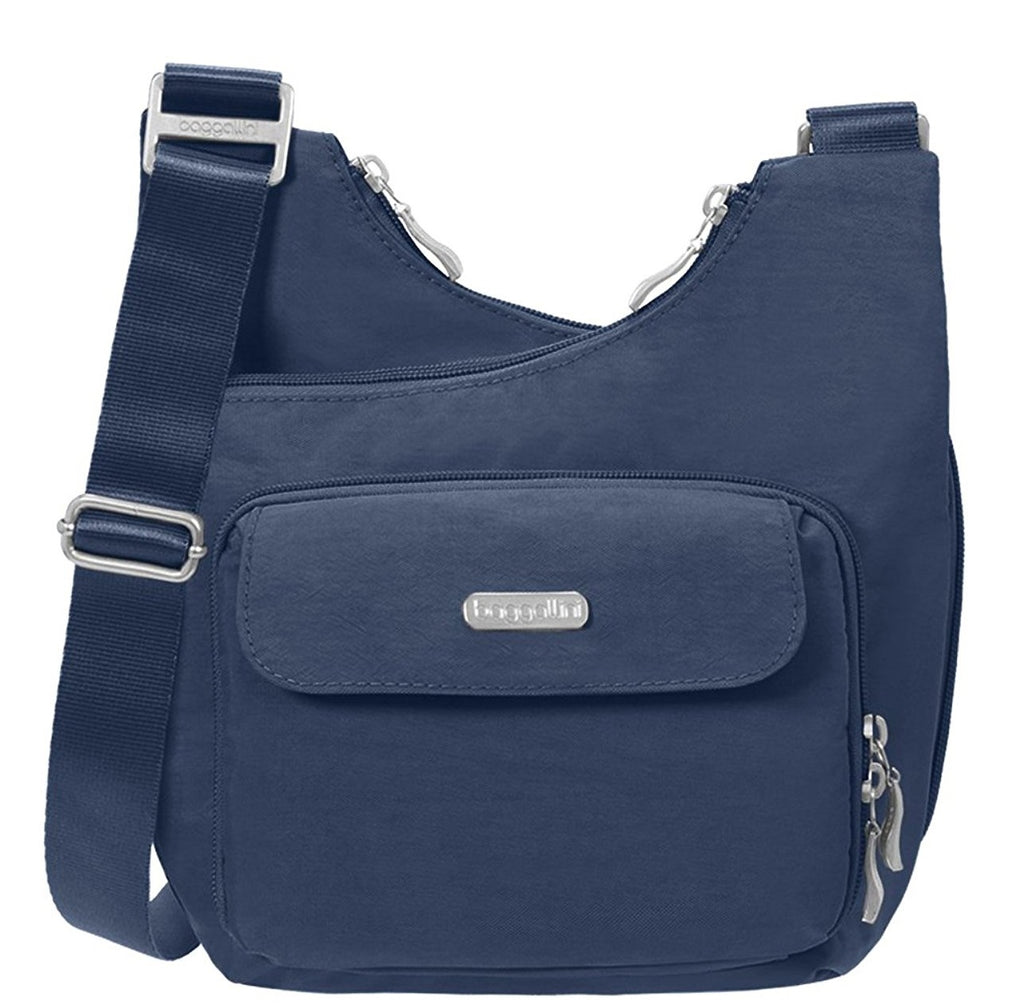 Baggallini Criss Cross Travel Crossbody Bag - Pacific -