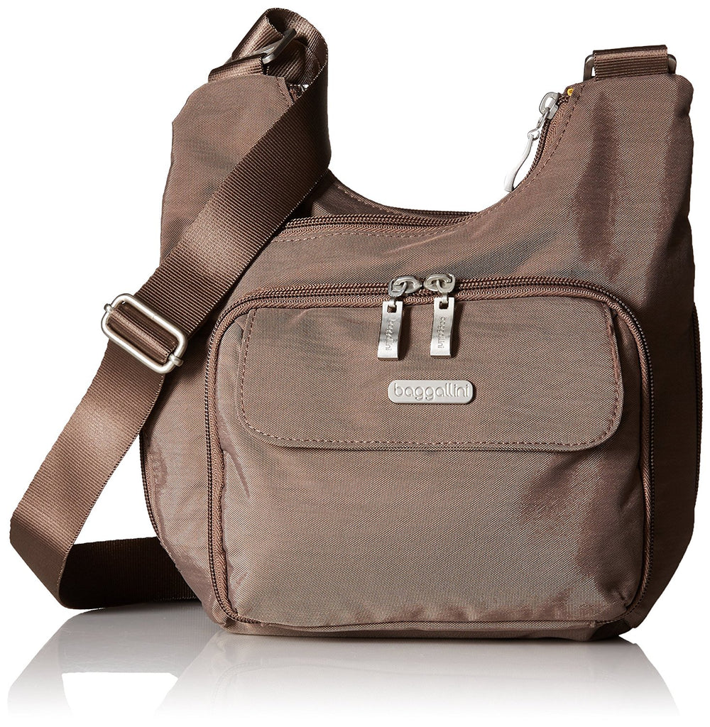 Baggallini Criss Cross Crossbody Travel Bag - Portobello -