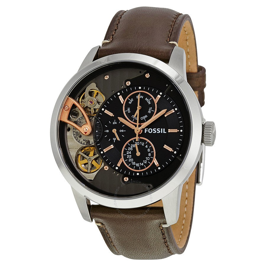 Fossil Townsman Chronograph Leaher Mens Watch