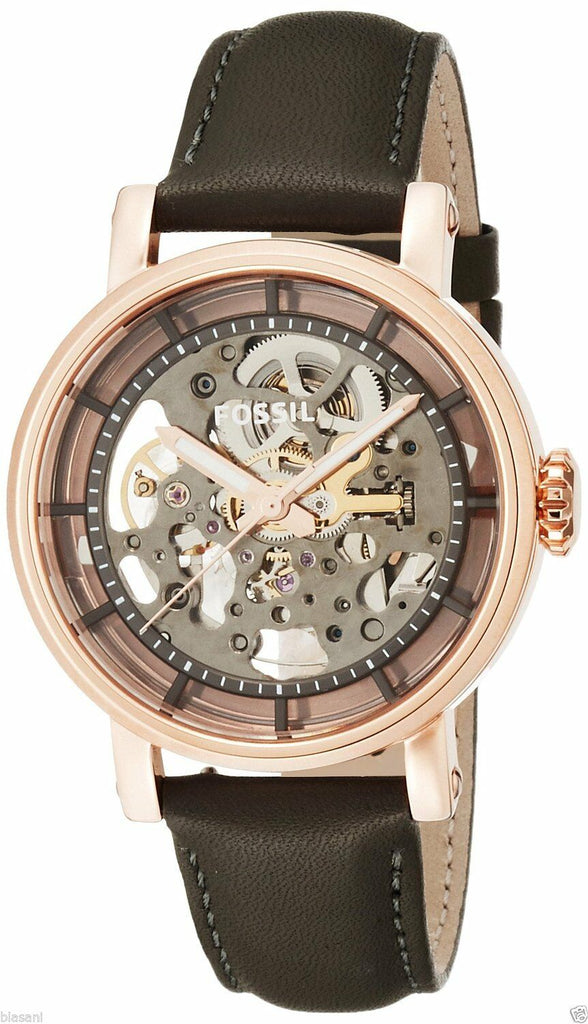 Fossil Original Boyfriend Automatic Leather Ladies Watch