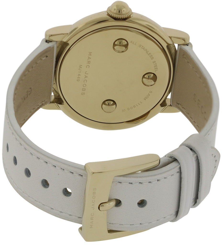 Marc Jacobs Courtney Leather Ladies Watch