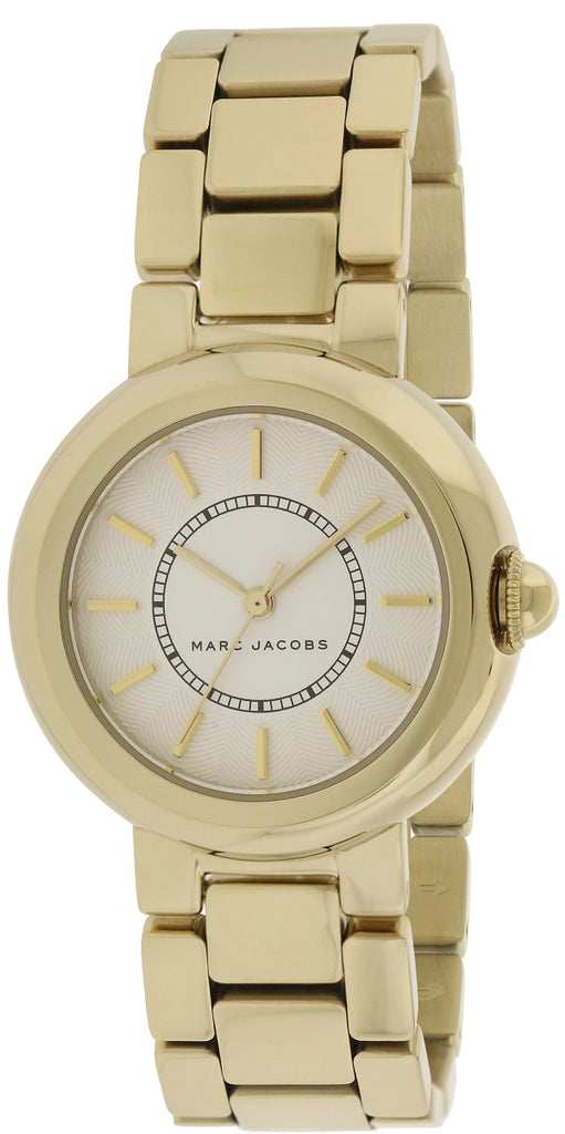 Marc Jacobs Courtney Gold-Tone Stainless-Steel Ladies Watch