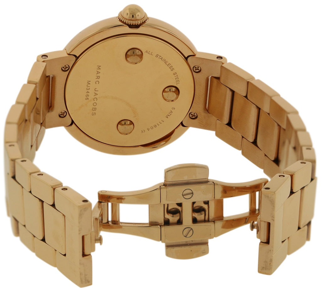 Marc Jacobs Courtney Rose Gold-Tone Stainless-Steel Ladies Watch