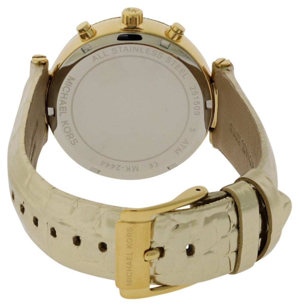 Michael Kors Sawyer Gold-Tone Ladies Watch