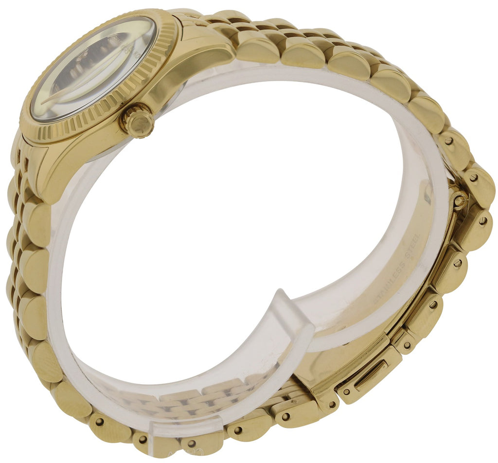 Michael Kors Petite Lexington Gold-Tone Ladies Watch