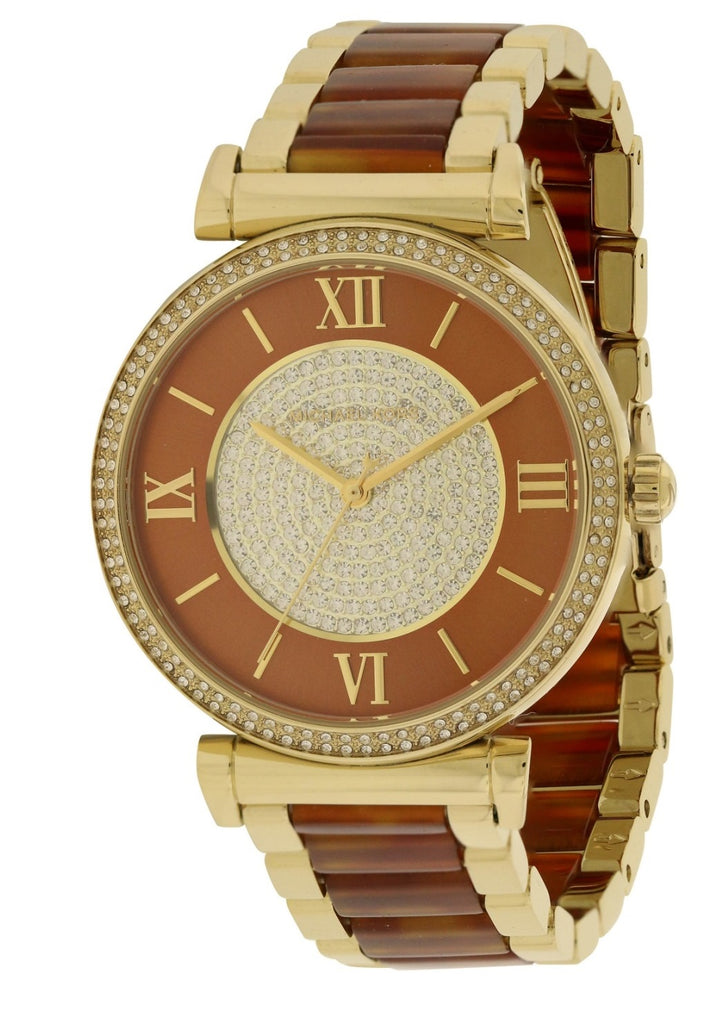Michael Kors (Open Box) Catline Two-Tone Ladies Watch MK3411