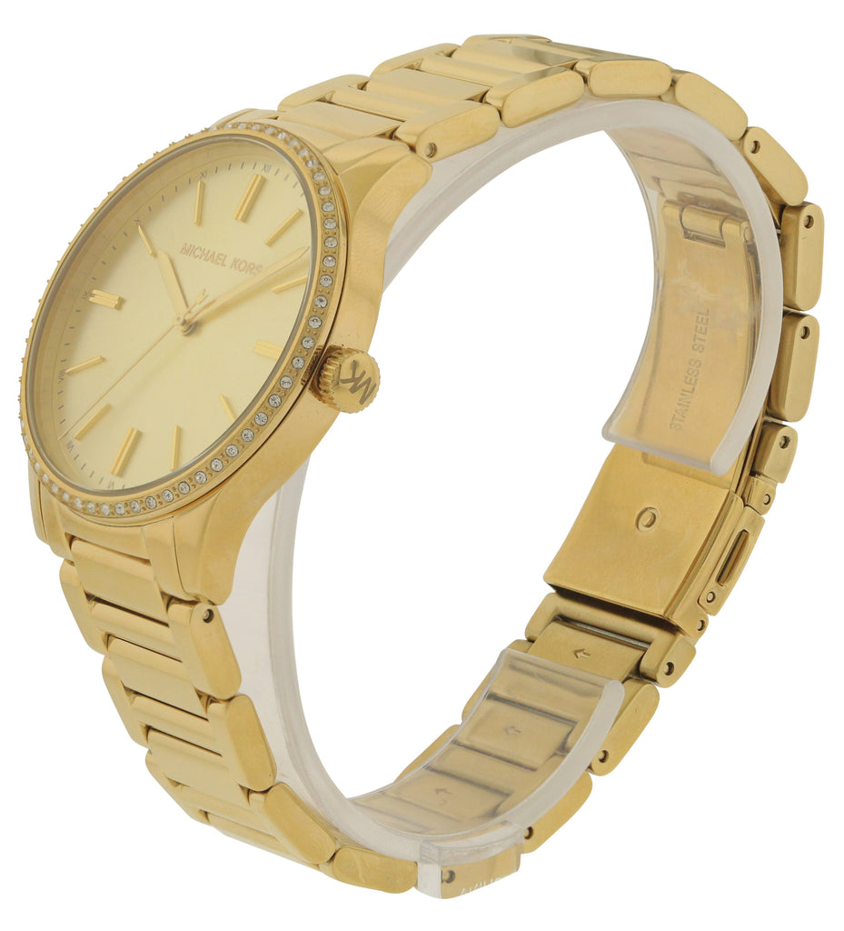 Michael Kors Bailey Gold-Tone Stainless Steel Ladies Watch