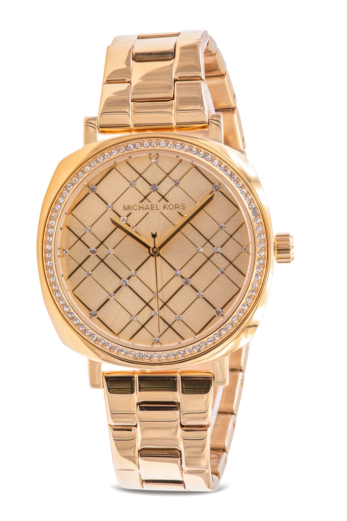 Michael Kors Nia Gold-Tone Ladies Watch