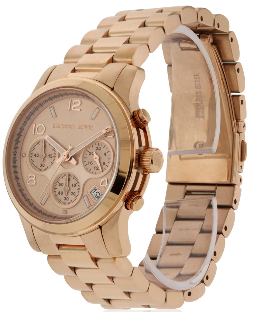 Michael Kors Rose Gold Stainless Steel Ladies Watch
