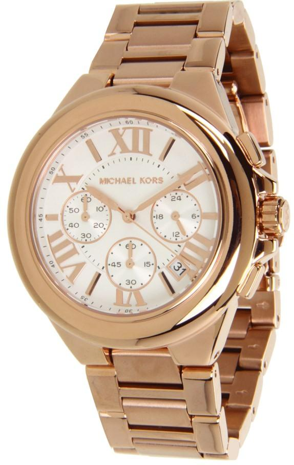 Michael Kors (Open Box) Camille Chronograph Ladies Watch MK5757