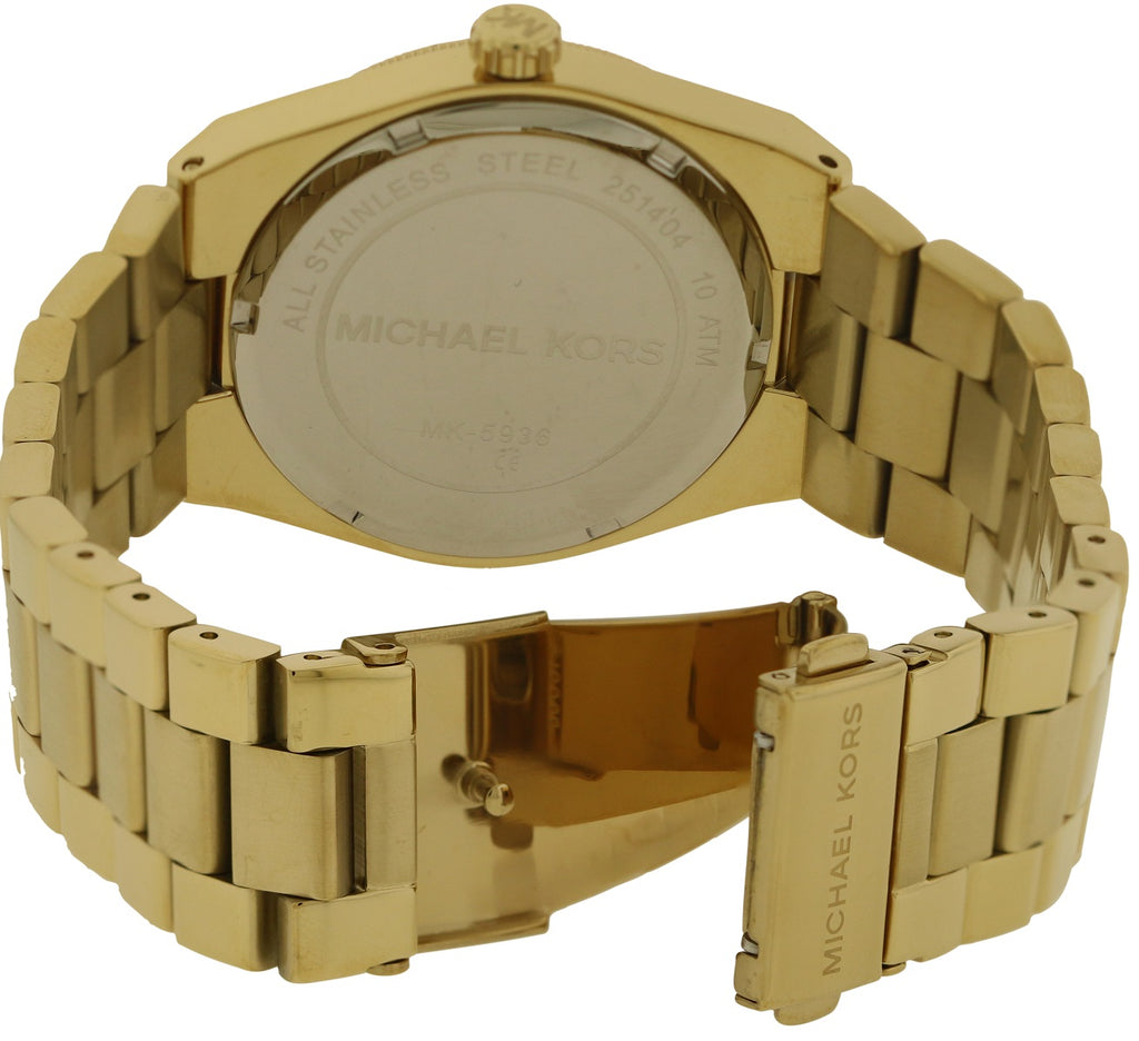Michael Kors Channing Gold-Tone Ladies Watch