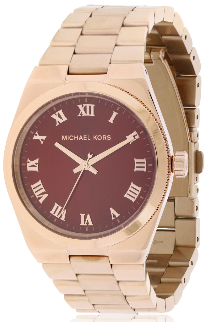 Michael Kors Channing Rose Gold-Tone Ladies Watch
