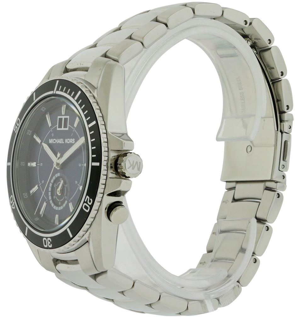 Michael Kors Jetmaster Stainless Steel Mens Watch
