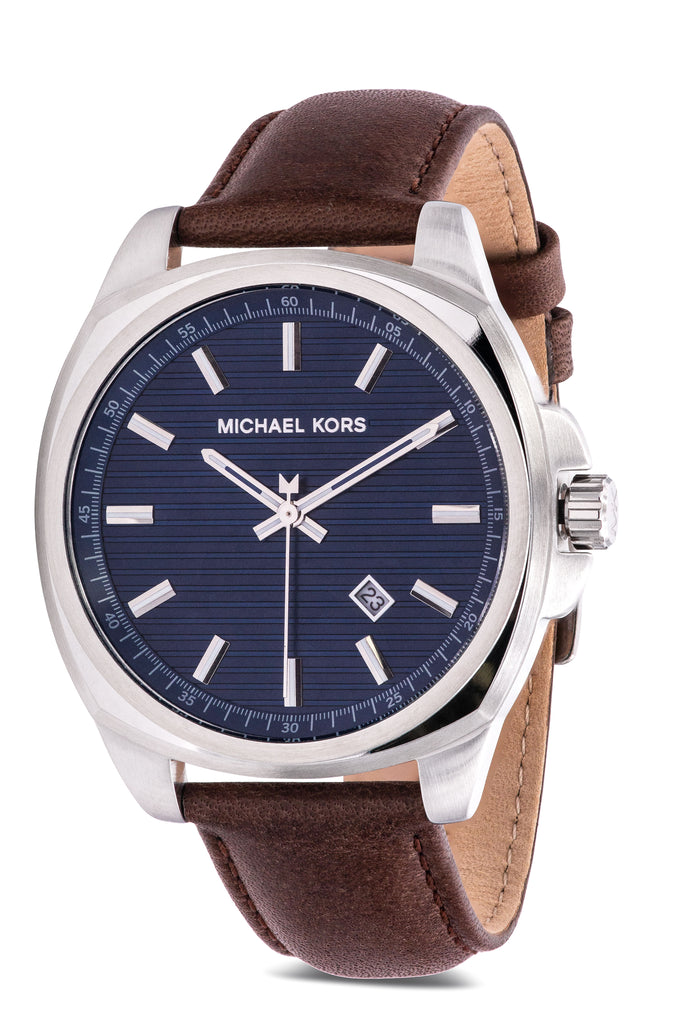 Michael Kors Bryson Leather Mens Watch