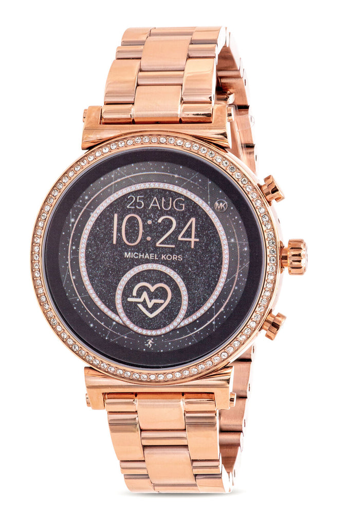 Michael Kors Gen 4 Sofie HR Rose Gold-Tone Smartwatch