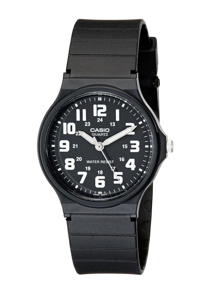 Casio Classic Black Resin Unisex Watch
