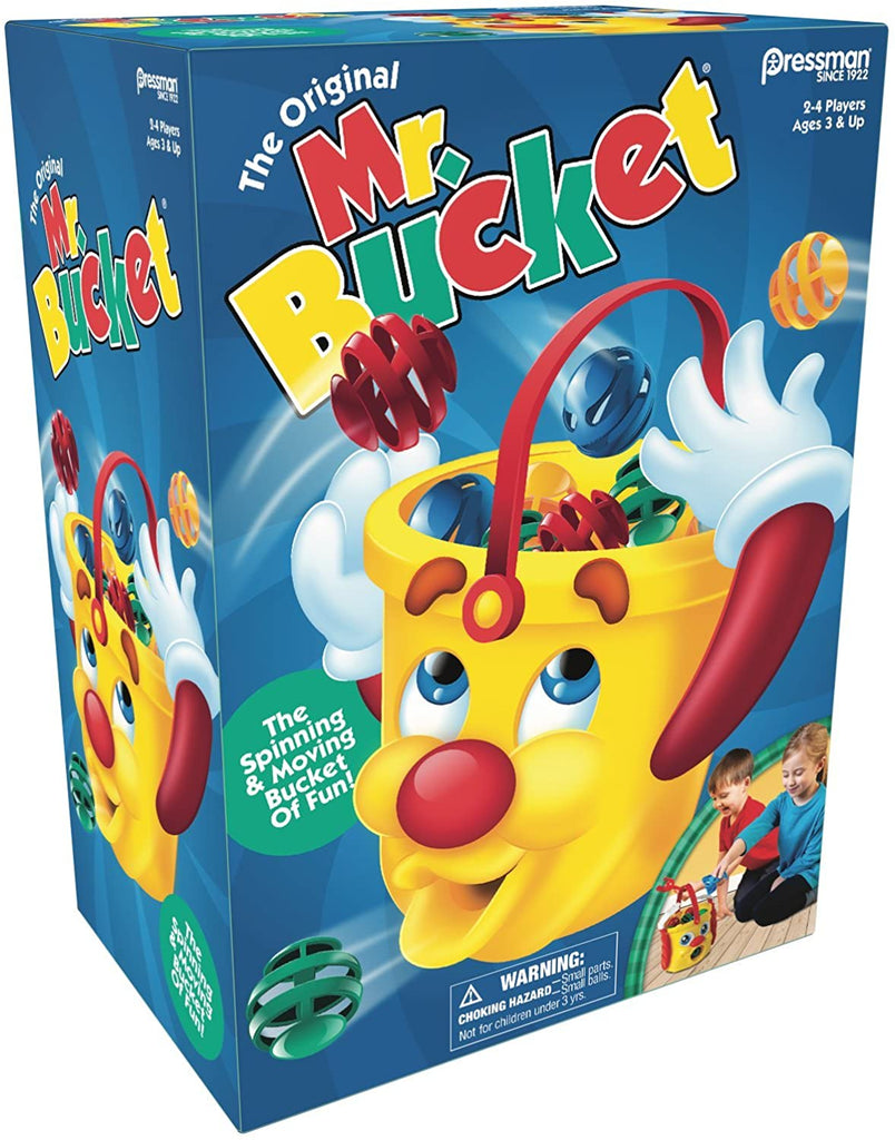 Mr Bucket Game The Spinning & Moving Bucket of Fun! by Pressman