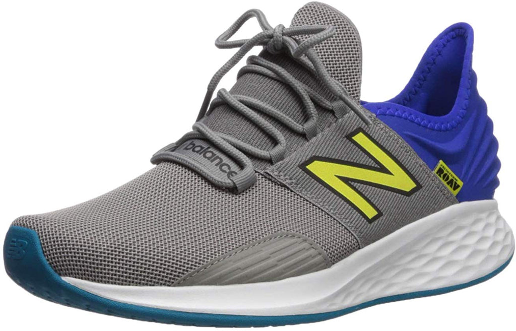 New Balance Roav V1 Fresh Foam Running Mens Shoe Sneaker  - Marblehead/Uv Blue/Marblehead - Size 11