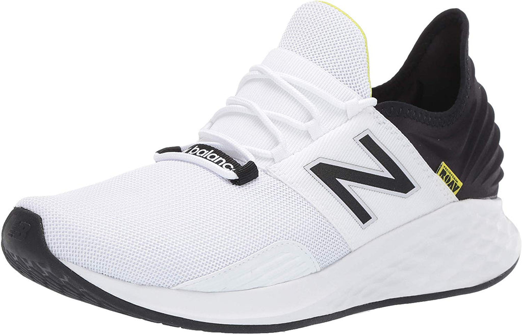 New Balance Roav V1 Fresh Foam Running Mens Shoe Sneaker - White/Black - Size 8.5