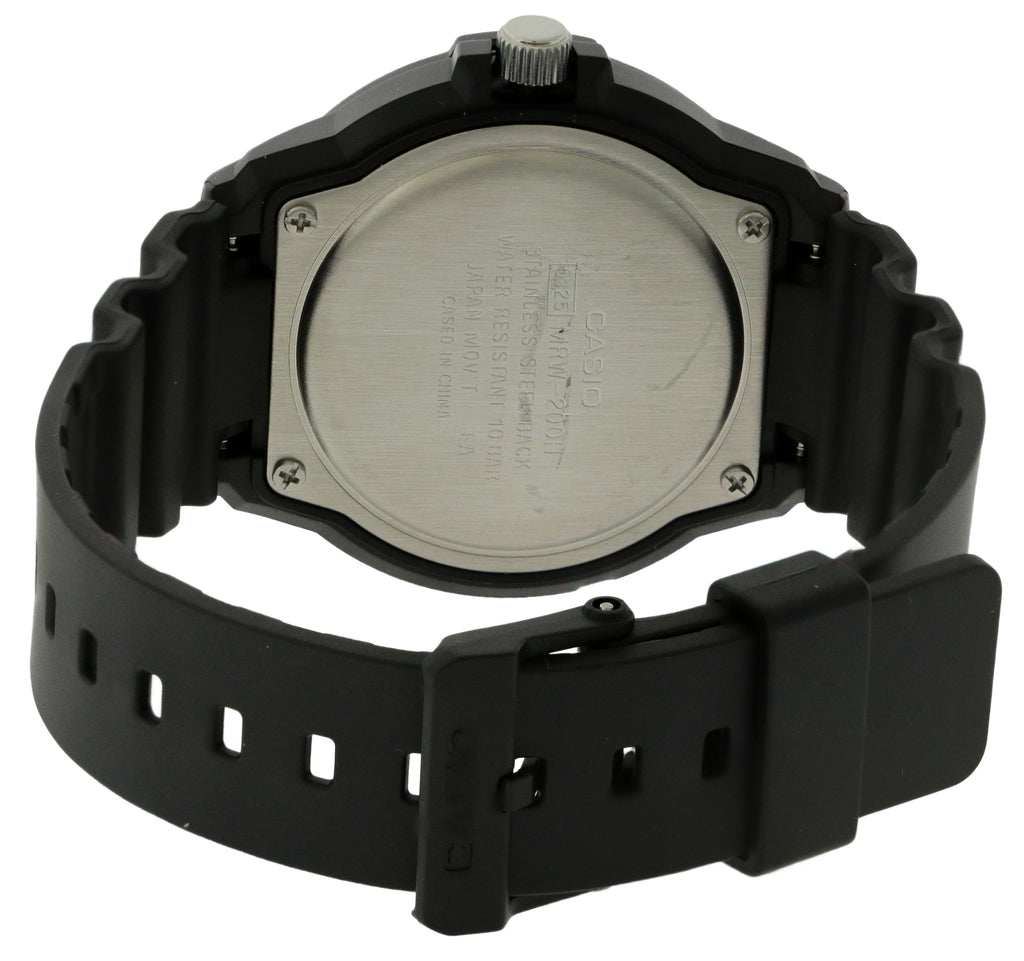Casio Classic Neo-Display Resin Unisex Watch