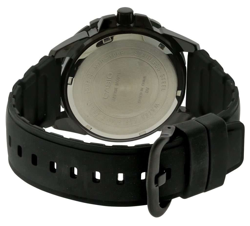 Casio Black Resin Mens Watch