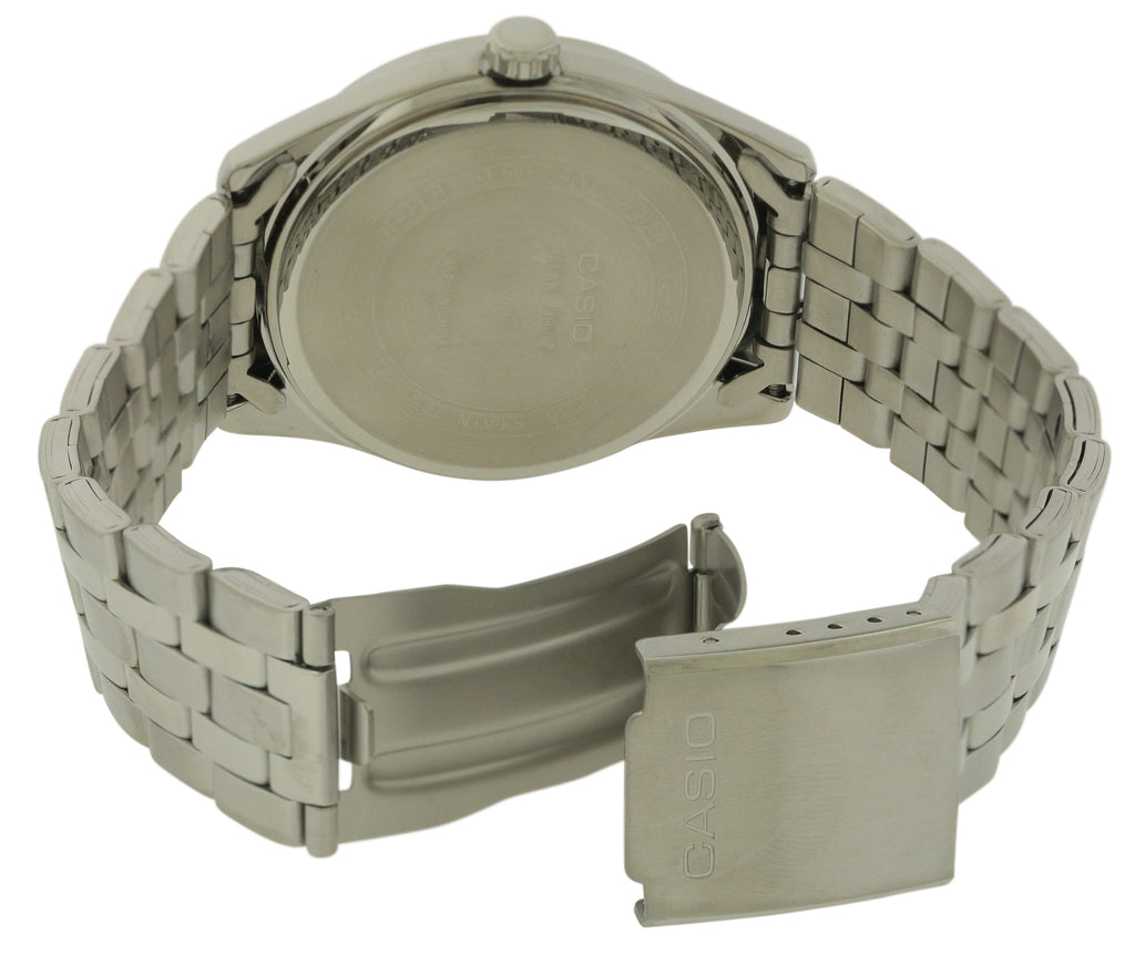 Casio Stainless Steel Mens Watch MTP1335D-1A