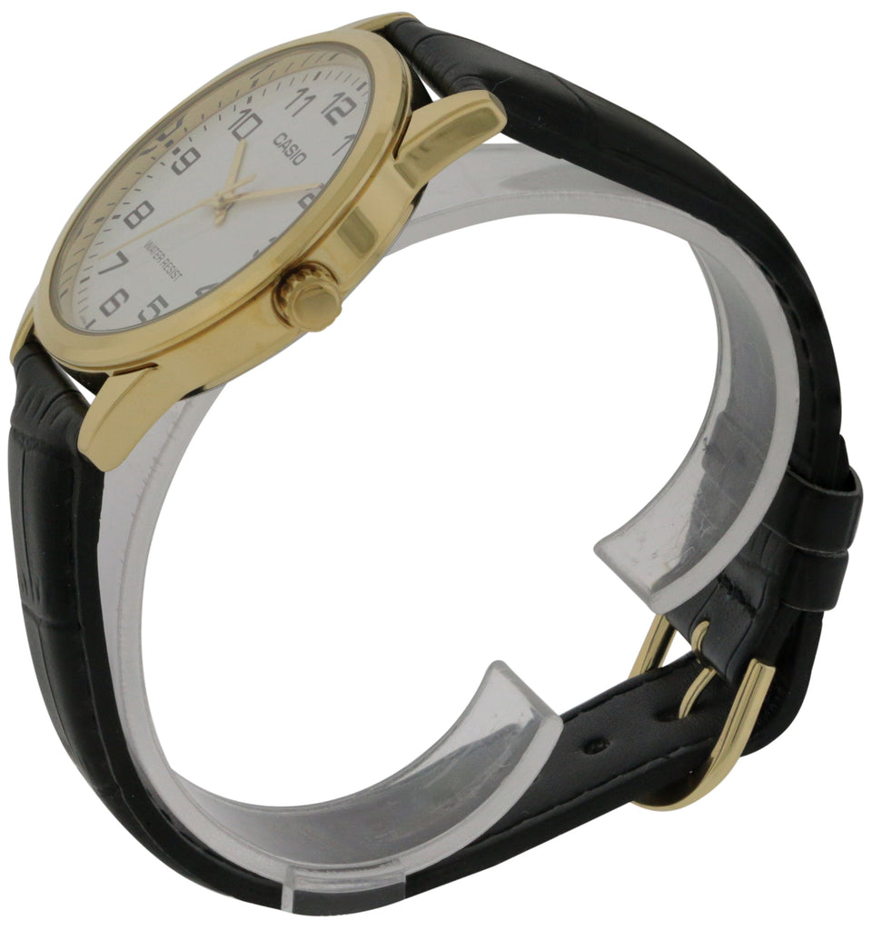 Casio Leather Mens Watch