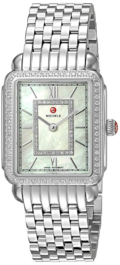 Michele Deco II Diamond Ladies Watch