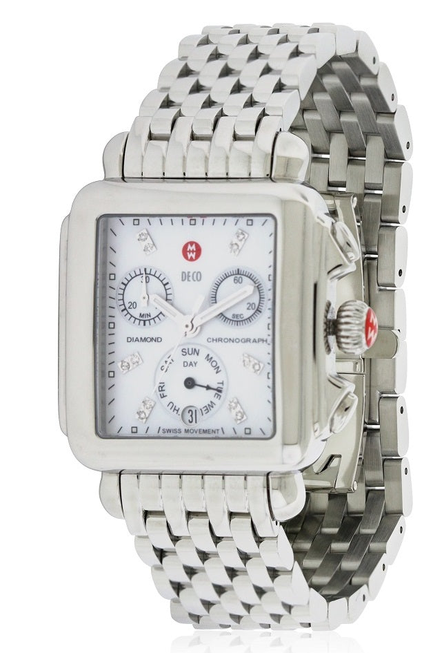 Michele Deco Day Diamond Ladies Watch