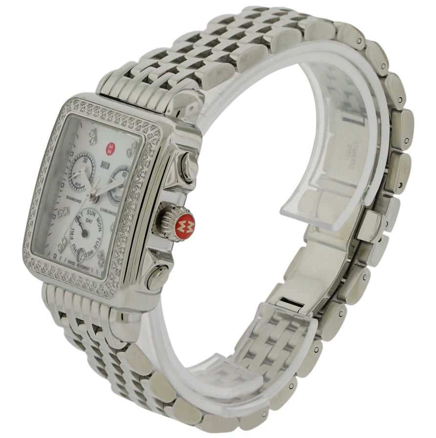 Michele Deco Day Ladies Watch