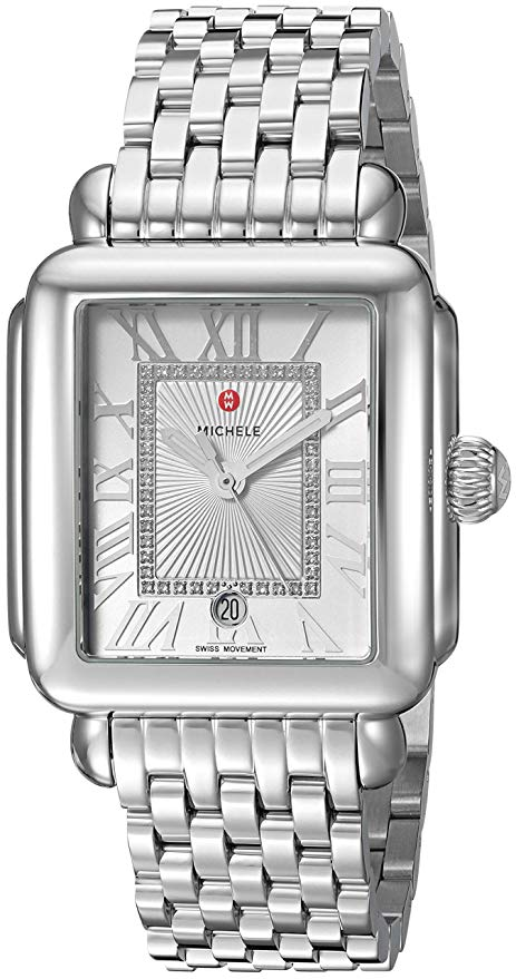 Michele Deco Madison Diamond Ladies Watch