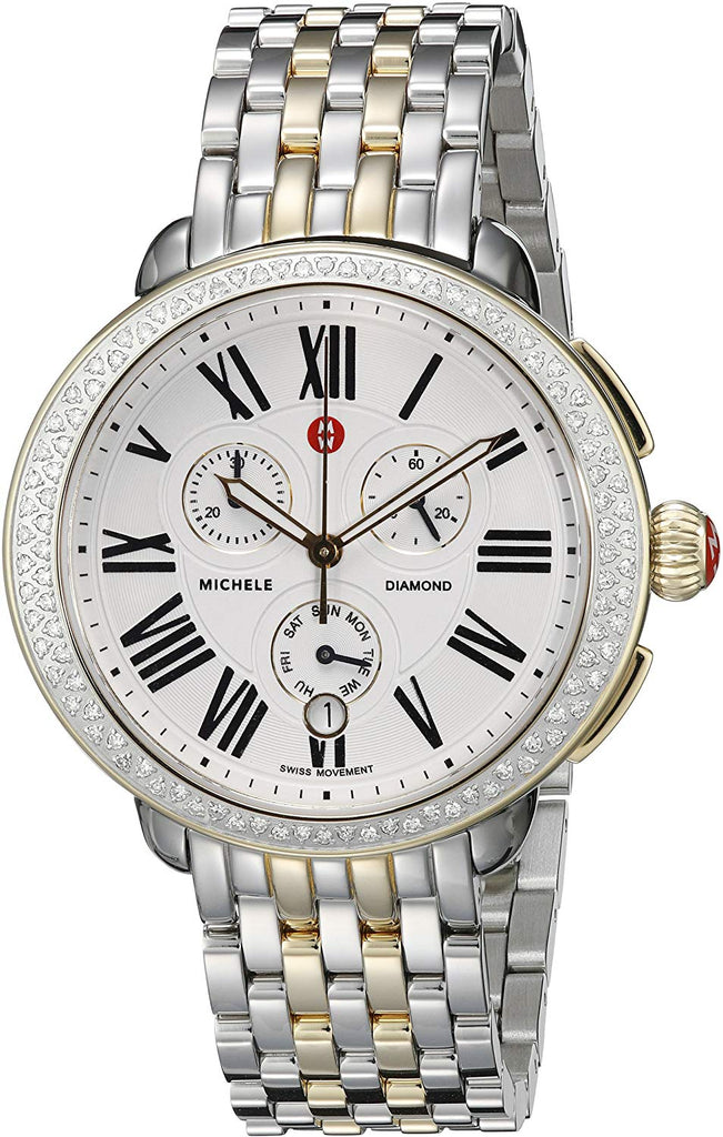 Michele Serein Two-Tone Ladies Watch