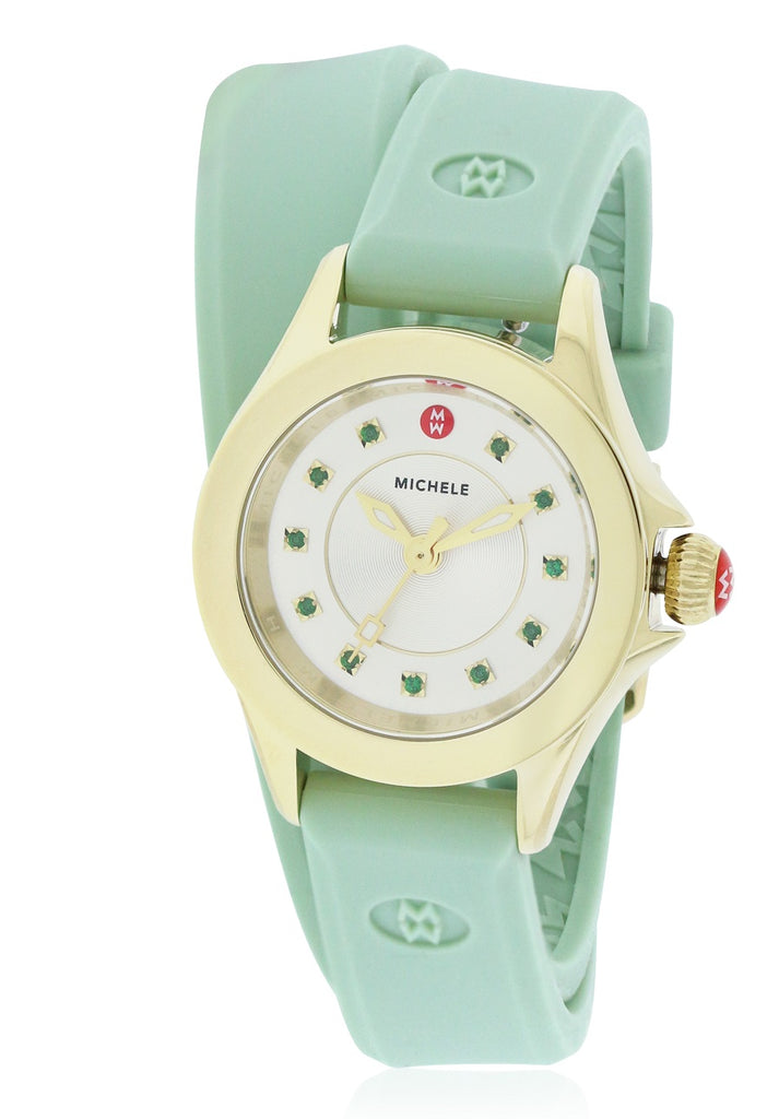 Michele Cape Mini Silicone Ladies Watch