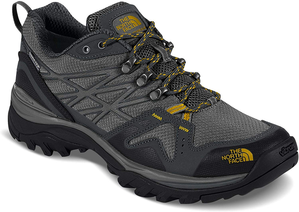The North Face Mens Hedgehog Fastpack Gore-Tex Hiking Shoe - Zinc Grey & Arrowwood Yellow - Size - 8