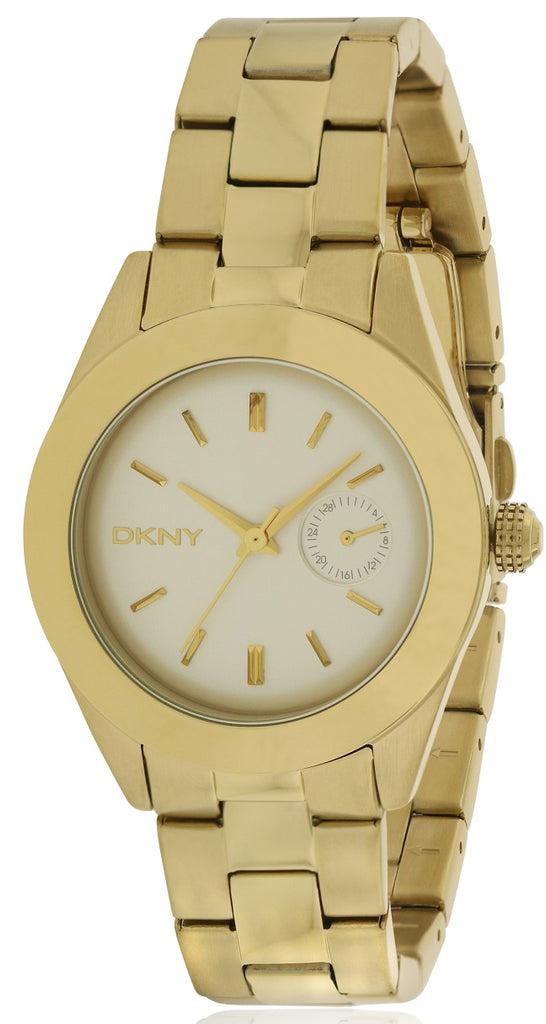 DKNY Jitney Gold-Tone Ladies Watch